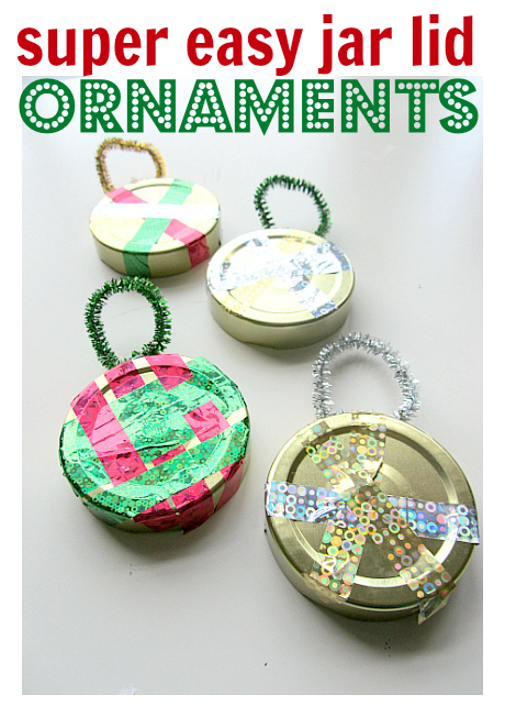 Easy christmas ornament crafts no time for flash cards for Elementary christmas craft ideas