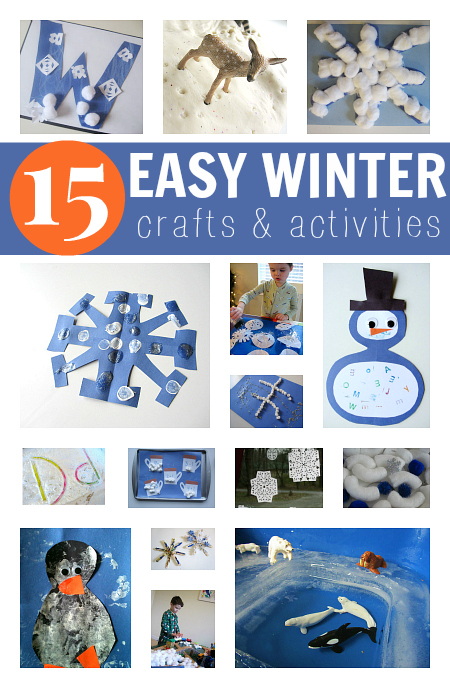 Easy Winter Craft Ideas For Kids Part - 32: Winter Crafts For Kids