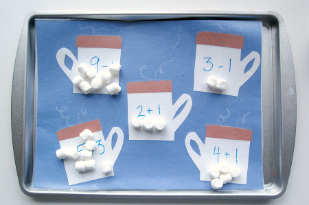 Hot Chocolate Math For Kids
