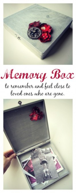 Random Crafts Of Kindness – Memory Box