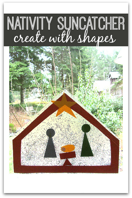 Nativity Craft For Kids No Time For Flash Cards