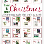 Read & Make Christmas – 25 Christmas Books With Crafts To Match