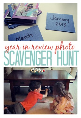 year in review photo scavenger hunt for kids