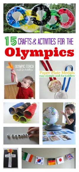Olympic Crafts & More { Add Your Post }