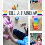 Roll a Rainbow Activity For Kids
