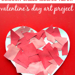 Mosaic Heart – Valentine's Day Craft For Kids