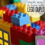 6 Lego Duplo Preschool Activities