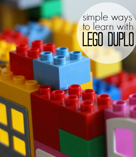 Lego Duplo Preschool Activities