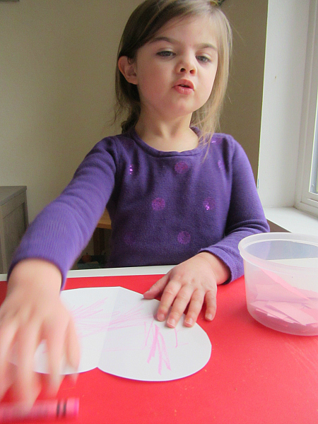 heart craft for valentine's day