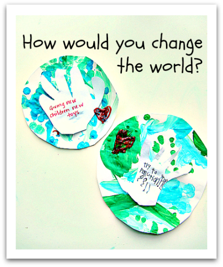 Martin Luther King Jr Day Activity For Kids How Would You Change The World