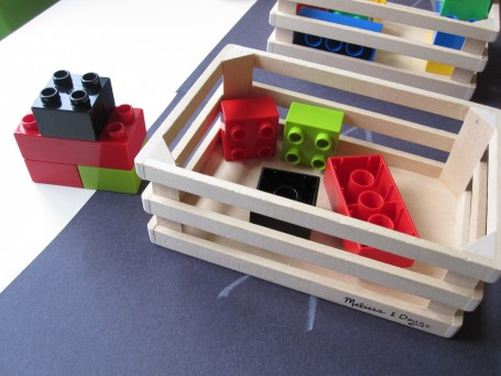 learning with duplo for preschool