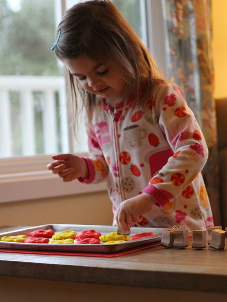letter match activity for preschool and kindergarten