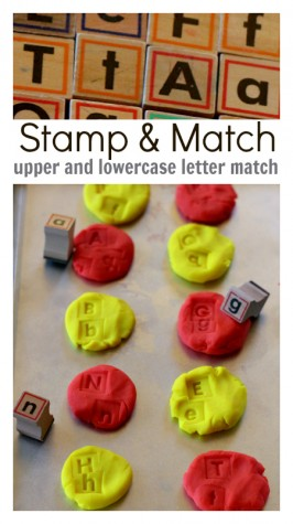 Stamp & Match – Letter Matching Activity For Kids