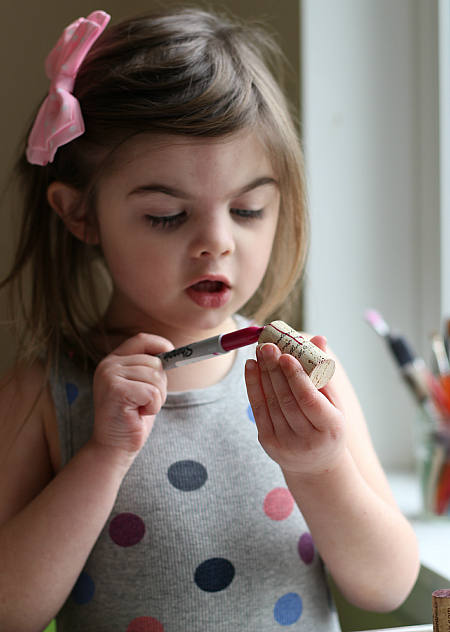 love bug craft for kids