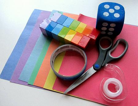 Roll A Rainbow Color Activity For Preschool