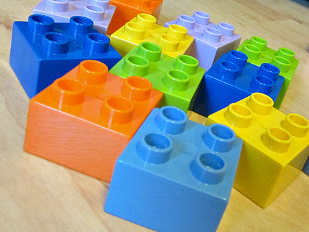 roll and build a rainbow game for preschool