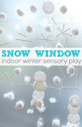 Snow Window – Winter Activity For Kids
