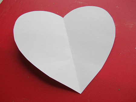 valentine's day heart craft for preschool