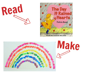 Read and Make Valentine's Day 1