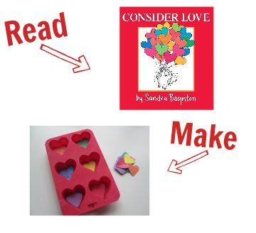 Read and Make valentines day 14