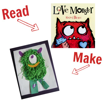 Read and Make valentines day 2