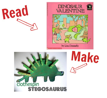 Read and Make valentines day books