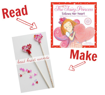 Read and Make valentines day for kids