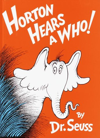 Seuss Horton Hears A Who