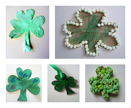 easy st.paddy's crafts