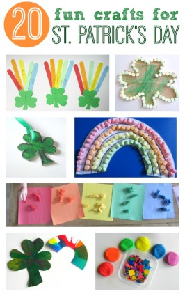 St.Patrick's Day Crafts For Kids