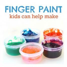 Easy Finger Paint Recipe