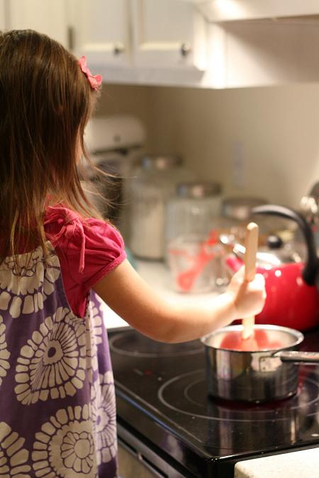 easy finger paint recipe for kids