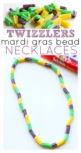 Mardi Gras Candy Necklaces