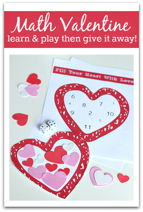 Valentine S Day Math Activity No Time For Flash Cards