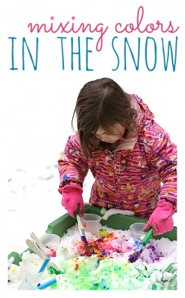Painting Snow