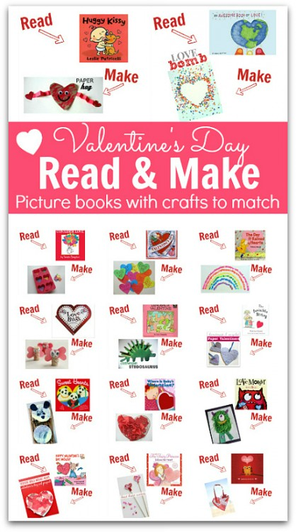 crafts with books to match