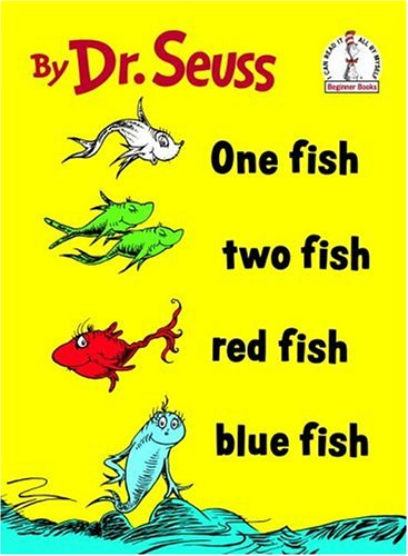 seuss 1 fish 2 fish