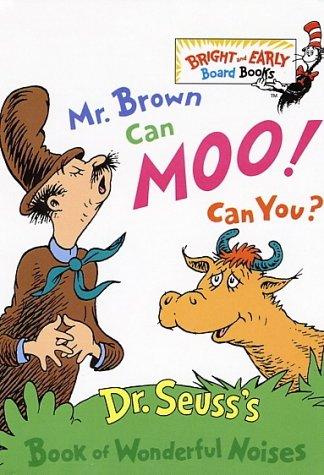 seuss mr brown can moo