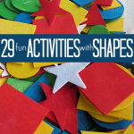 shape activities for preschool