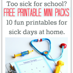 FREE Printable Activity Sheets