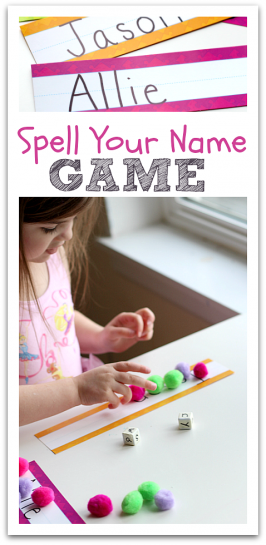 Spell Your Name – Spelling Game