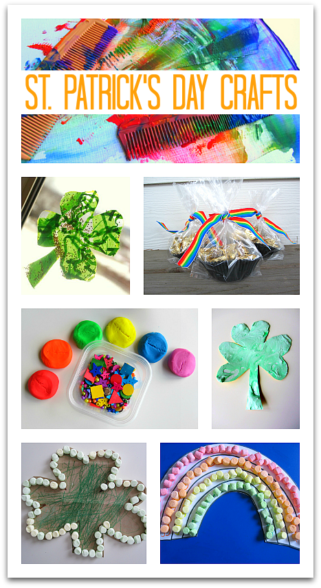 St Patrick S Day Crafts For Kids No Time For Flash Cards