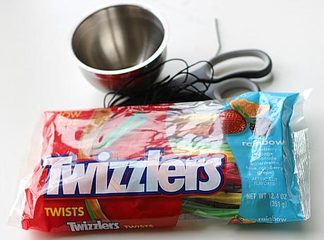 DIY candy necklaces