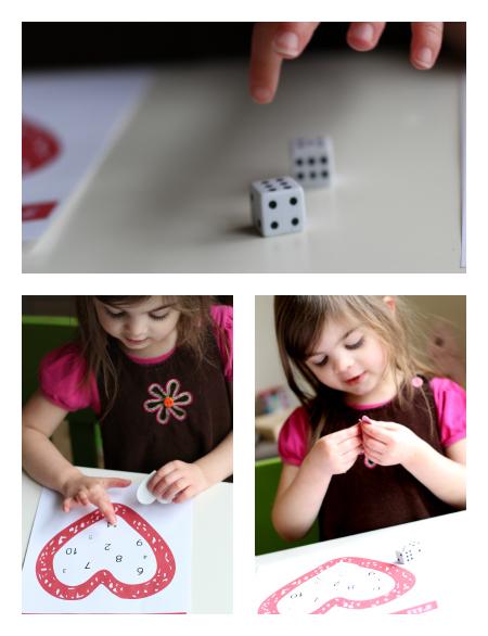 valentine's day math game printable