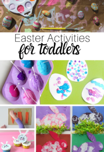 Toddler easter ideas