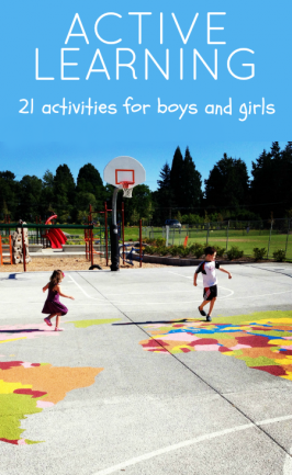 Active Learning Activities for Boys and Girls