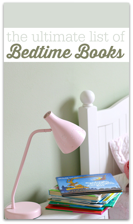 bedtime book list for kids