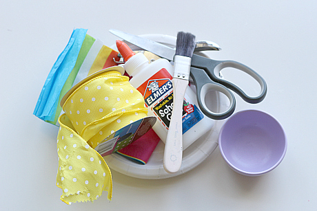 Paper Plate Easter Baskets & Paper Plate Easter Baskets - No Time For Flash Cards