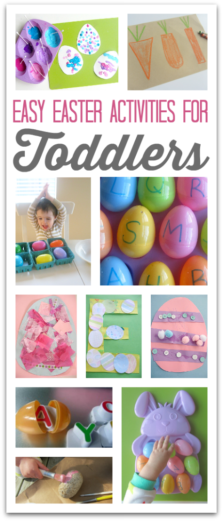 Easy easter activities for toddlers no time for flash cards for Easter crafts for elementary students