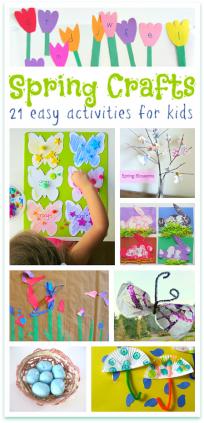 easy spring crafts